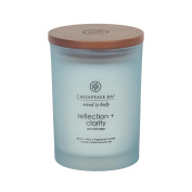 Chesapeake Bay Candle Mind & Body Collection Medium Jar Scented Candle, Reflection + Clarity