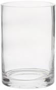 CYS Glass Cylinder Vase. H-15cm , Open D-10cm