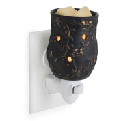 Candle Warmers Etc. Pluggable Wax Warmer, Fragrance Releasing Decorative Plug-In Nightlight Warmer, Peppercorn