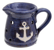 MayRich 10cm x 13cm Ceramic Decorative Anchor Pitcher Candle Tart Warmer