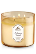 Bath & Body Works White Barn 3-Wick Candle in Mahogany Coconut