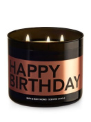 """Bath and Body Works """"Happy Birthday"""" 3 Wick Candle. Buttercream Icing Scented. 430ml"""