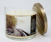 Bath & Body Works Home Flannel Scented 3 Wick 430ml Candle Limited Edition 2017 Fall