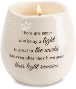 Light Your Way Memorial 19176 in Memory Light Remains Ceramic Soy Wax Candle