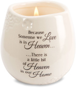 Light Your Way Memorial 19177 in Memory of Loved One Ceramic Soy Wax Candle