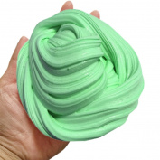 Newest Green Fluffy Slime Crystal - Super Soft, Fluffy Floam Slime Sludge Toys Gifts, School Supplies