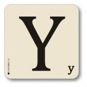 Alphabet Table Mat Letter Y