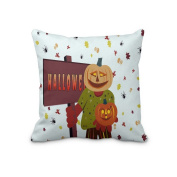 New Throw Pillow Cover Holiday Halloween Digital Printing Pillow Covers 41cm x 41cm