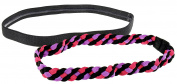 Capelli New York Ladies 2 Pack Athletic Head Wrap Pink Combo One Size