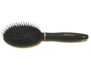 Detangle and Smooth Brush, Dual Bristle Brush, Nylon and Boar Bristles, Comfort Tip Cushion Brush
