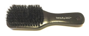 Small Boar Bristle Brush, Smooth and Shine Brush, Wood Handle