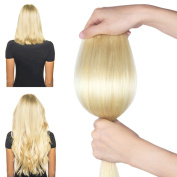 FRISTLIKE 46cm Double Weft 140g Great 7A 100% Clip in Remy Human Hair extensions Full Head 8 Piece 18 Clips