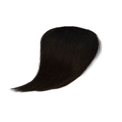 Remeehi Thick Clip in Human Hair Bangs Straight Fringe Hairpieces Extensions for women Side Bangs