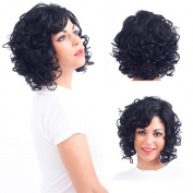 YUSHUO Beauty Brazilian Human Hair Women Stright Short Wigs