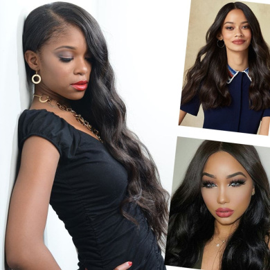 Giannay Hair Pre Plucked 360 Lace Frontal Wig 150% 180% 250% Density Body Wave 8A Brazilian Virgin Human Hair 360 Lace Wigs with Baby Hair Natural Hairline for Black Women ( 25cm 180 Density )