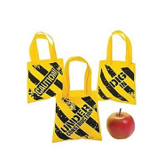 Construction Zone Mini Tote Bags - Party Supplies