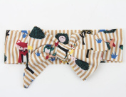 Sothread Baby Girls Elastics Bowknot Headband For Newborns Elastic Hair Head Band