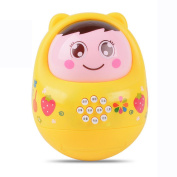 Musical Toy for Toddlers - With Clear Sounding,Elaco LED Music Toy Roly Doll Baby Education Puzzle Toys YE