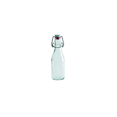 Frilich 3GL020 Carafine Coterie Glass 240ml Swing Top Bottle - 12 / CS