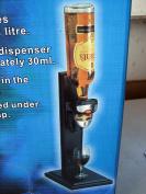 One Bottle Drink Dispenser, Liquor Dispenser, Bar Butler, Elegant Wooden stand