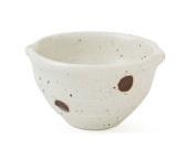 Set of Four 9.5cm Brown Dots Bowls