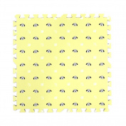9 Pcs Cute Dogs Printed Interlocking Floor Mats Puzzle Play Mat for Baby Kids Room, #03