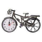 OHTOP Retro Vintage Plastic Bicycle Bike Home Decoration Table Clocks Ornament