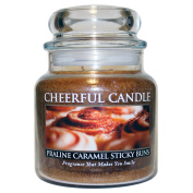 A Cheerful Giver Praline Caramel Sticky Jar Candle, 470ml