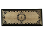 Coco Fibre Extra Thick Double Doormat-Monogrammed,A1HOME200061-S