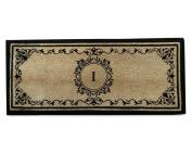 Coco Fibre Extra Thick Double Doormat-Monogrammed,A1HOME200061-I