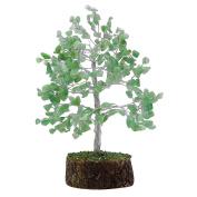 Harmonise Green Aventurine Stone Tree Reiki Healing Crystal Spiritual Gems Vastu Table Decor