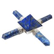 Harmonise Feng Shui Energy Generator Lapis Lazuli Pyramid Spiritual Reiki Healing Crystal