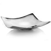 Modern Day Accents Plaza Square Pedestal Decorative Bowl