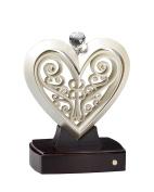 Unity Heart Ivory colour