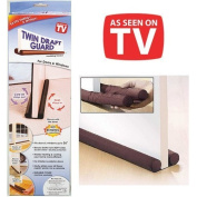 Twin Draught Guard - Energy Saving Under Door Draught Stopper