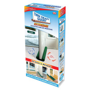 Twin Draught Guard Extreme in Green - Energy Saving Under Door Draught Stopper