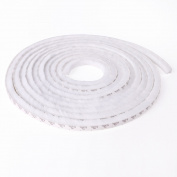 Seal Brush Pile Dust Excluder Self Adhesive Strip Tape 15mm for Door Window 5M White