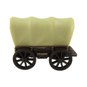Miniature Covered Waggon Die Cast Novelty Toy Bronze Pencil Sharpener PA Souvenir