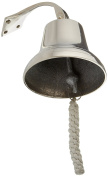 Polished Aluminium Dinner Bell 15cm - Nautical Ship Bell