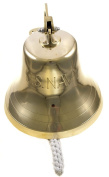 25cm Brass US Navy Ship Bell - Nautical Replica