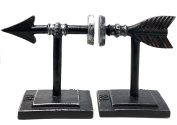 Arrow Bookend Set - Light and Easy to use