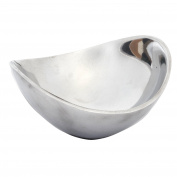 Prinz Artisan Flatiron Silver Metal Bowl