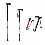Adjustable Folding Support Cane for the Blind 80cm - 90cm