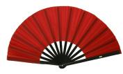 Red Performance Folding Fan, #361