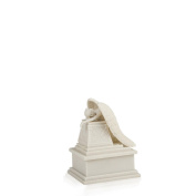 Perfect Memorials White Weeping Angel Cremation Urn Small