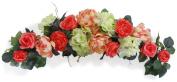 80cm Coral Rose Swag