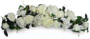 80cm Cream Peony/Rose/Hydragea Swag