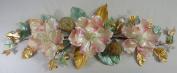 80cm Mauve Magnolia Swag