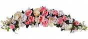 130cm Pink Peony/Rose/Hydrangea Swag