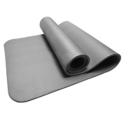 Walking Life Yoga Mat, Bolayu 10MM Thick Durable Non-slip Yoga Mat, Exercise Fitness Pad Mat Lose Weight